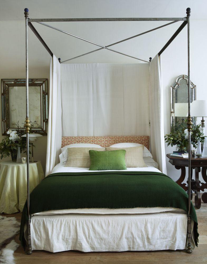 Antique, modern bedroom | Rose Uniacke