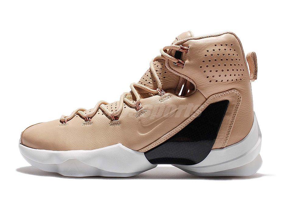 02b6a471b26 Vachetta Tan Drapes The Next Nike LeBron 13 Elite