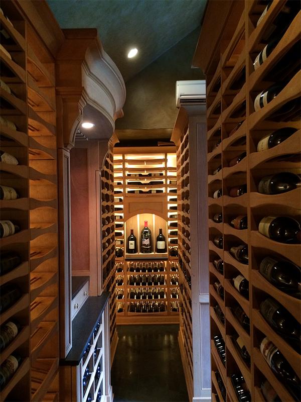 Our Work Home wine cellars, Wine cellar, Wine tasting room