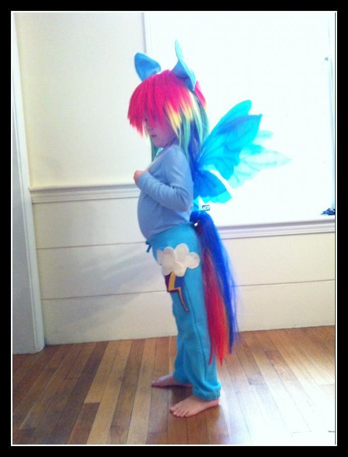 my little pony costume rainbow dash