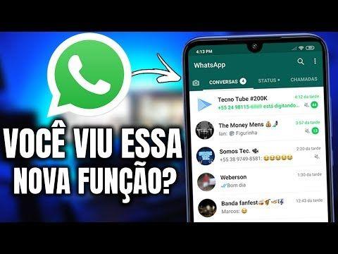 Nova Atualizacao Do Whatsapp 2019 Voce Viu Youtube