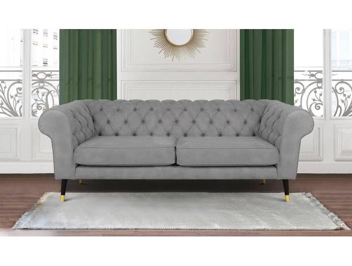 Leonique 3 Sitzer Wales Grau Fsc Zertifiziert In 2020 Sofa Furniture Decor