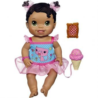Boneca Baby Alive Sorvetinho Morena Hasbro Megazim