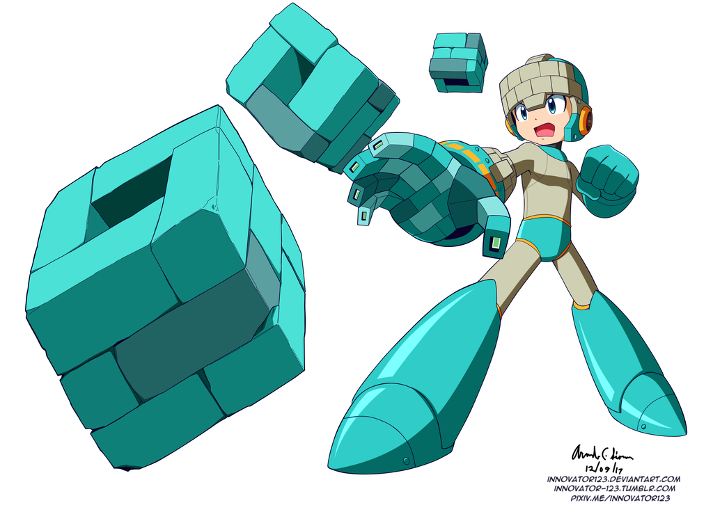 Megaman 11 Unnamed Weapon By Innovator123 On Deviantart Megaman 11 Mega Man Art Mega Man