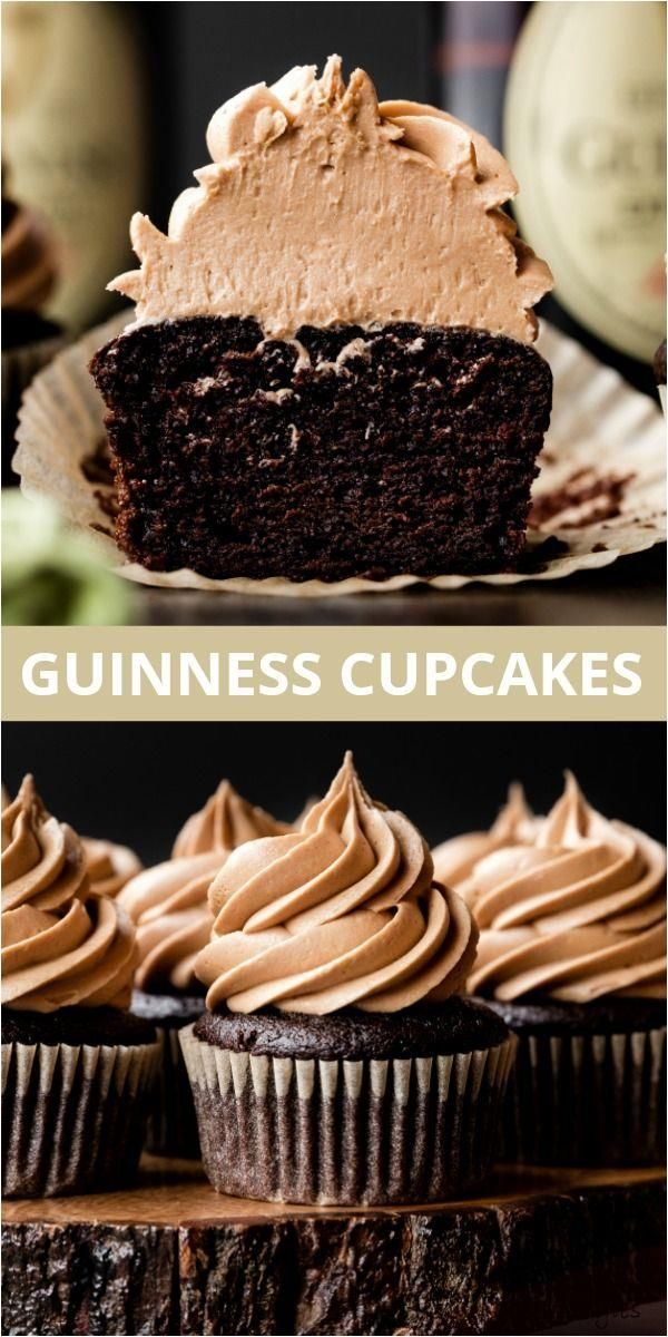 Guinness Chocolate Cupcakes #fitness #photography