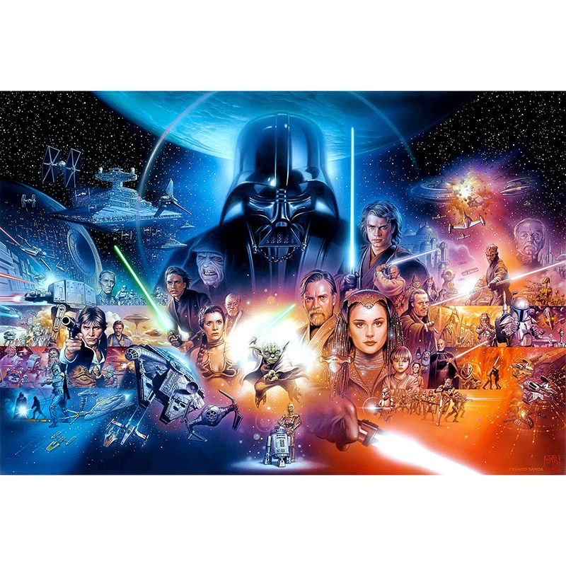 5d Diy Diamond Mosaic Embroidery Star Wars Diamond Painting Full Square Rhinestone Cross Stitch Home Decor Star Wars Wallpaper Star Wars Poster Star Wars Movie