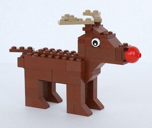 Lego Winter Village Rudolph Christmas Xmas Pack of 3 LEGO Reindeer