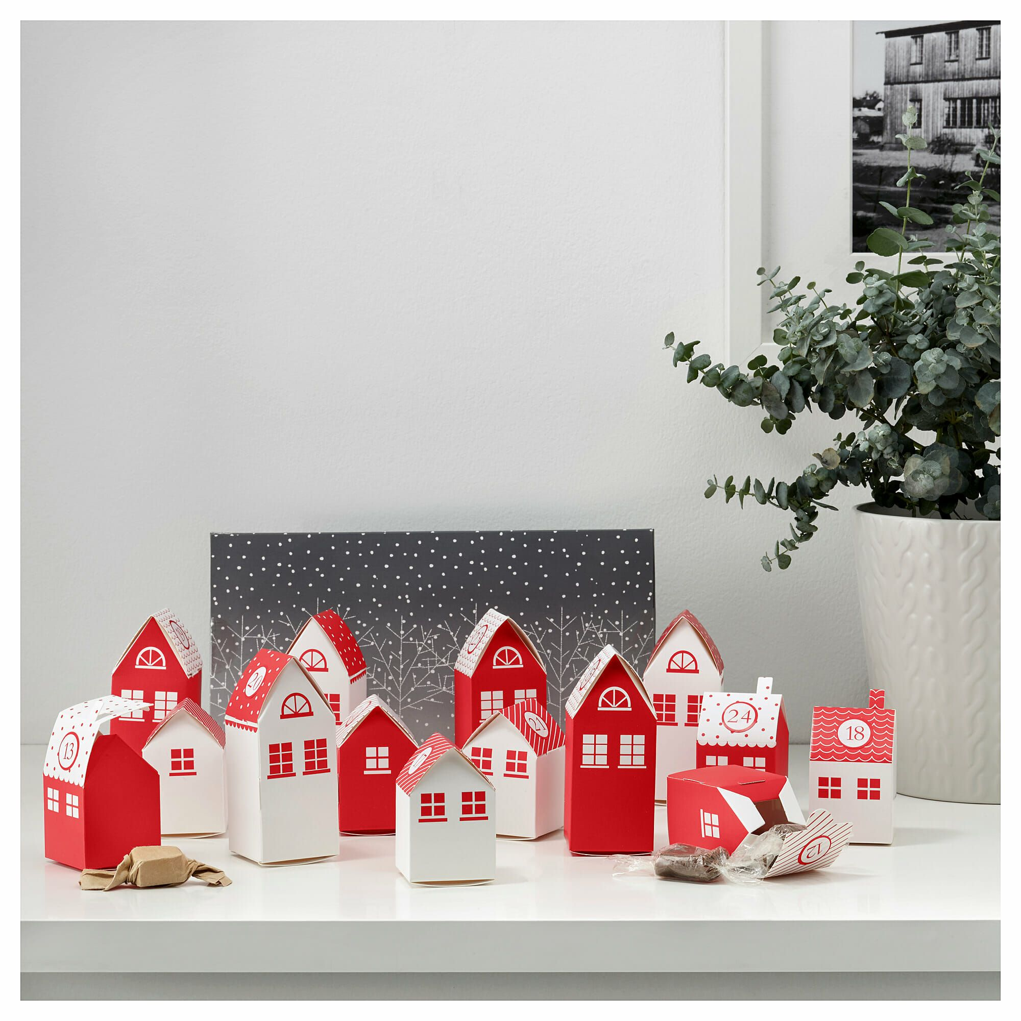 12 Beautiful Scandinavian Advent Calendars To Buy Little Scandinavian In 2020 Ikea Christmas Christmas Decor Inspiration Advent Calendar House