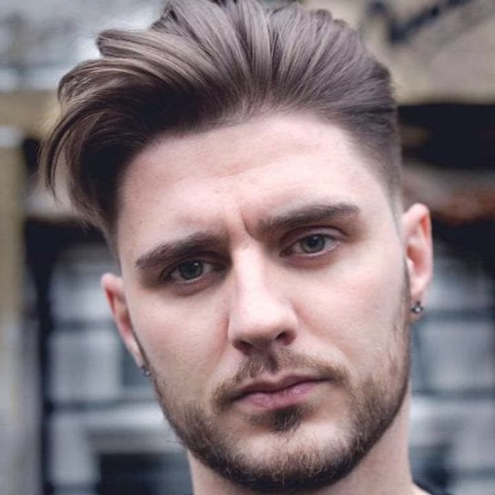30 Charming Slicked Back Hairstyles For Men Video Beard Styles Haircuts Mens Hairstyles Slicked Back Hair