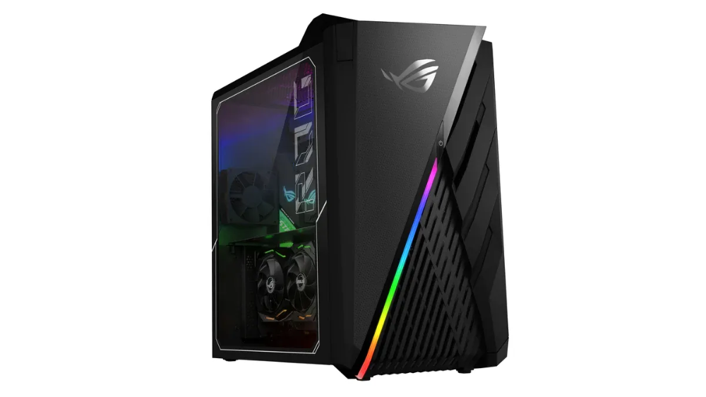 At Ces 2020 Asus Unveiled Four New Gaming Desktops Under Its Republic Of Gamers Rog Brand These Are The Affordable Rog Strix Ga15 And Rog Strix Ram Komputer