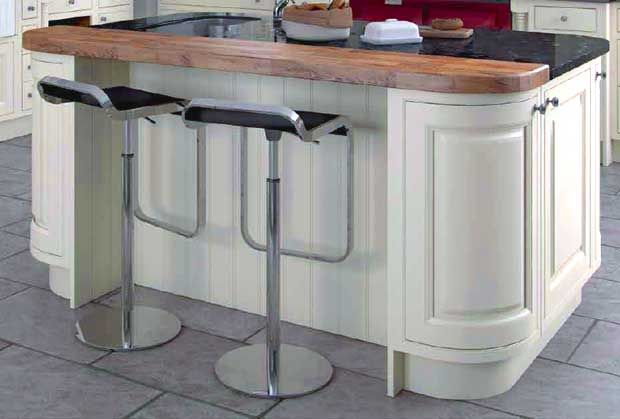 Make A Feature Of Your Kitchen Island And Turn It Into A Stylish Breakfast Bar