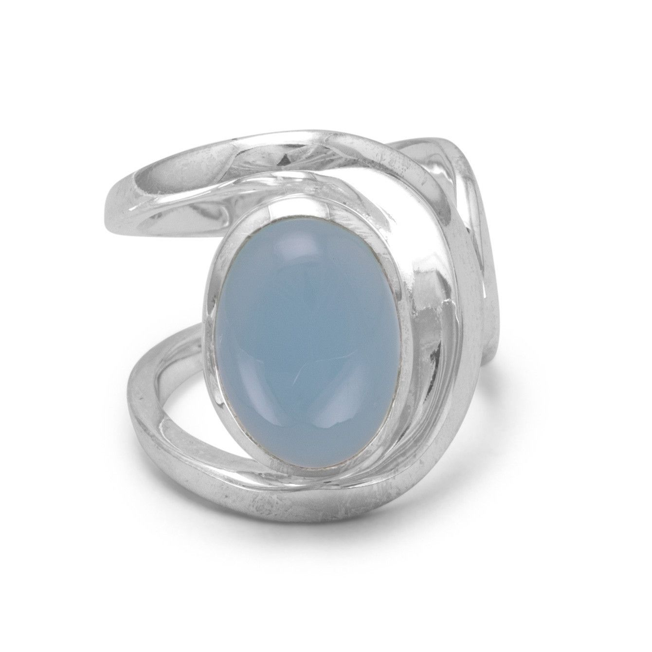 Statement Chalcedony Ring