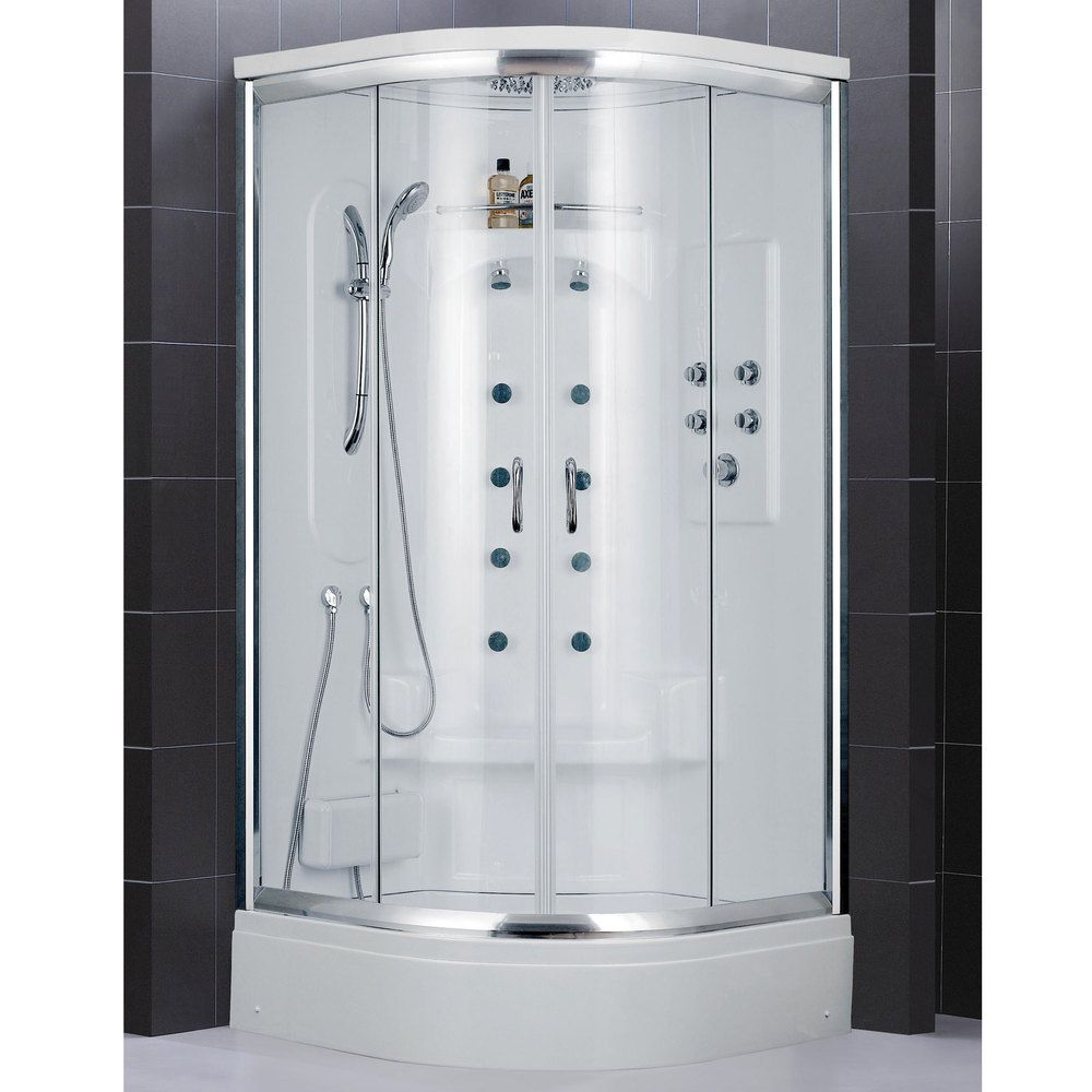 DreamLine Niagara Jetted Shower Cabin | Overstock.com Shopping ...