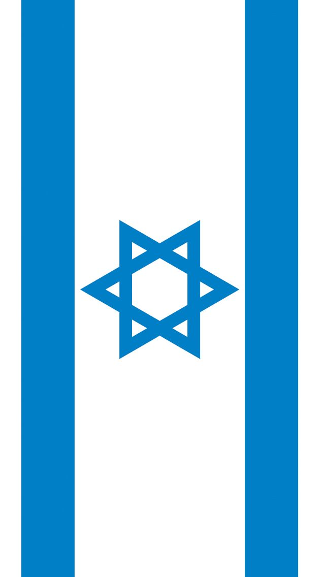 israel flag iphone 5 wallpaper 640x1136