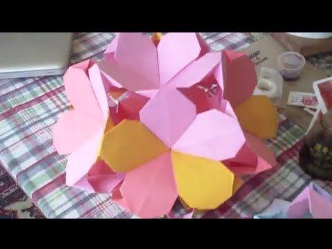 Modular plumeria ball video