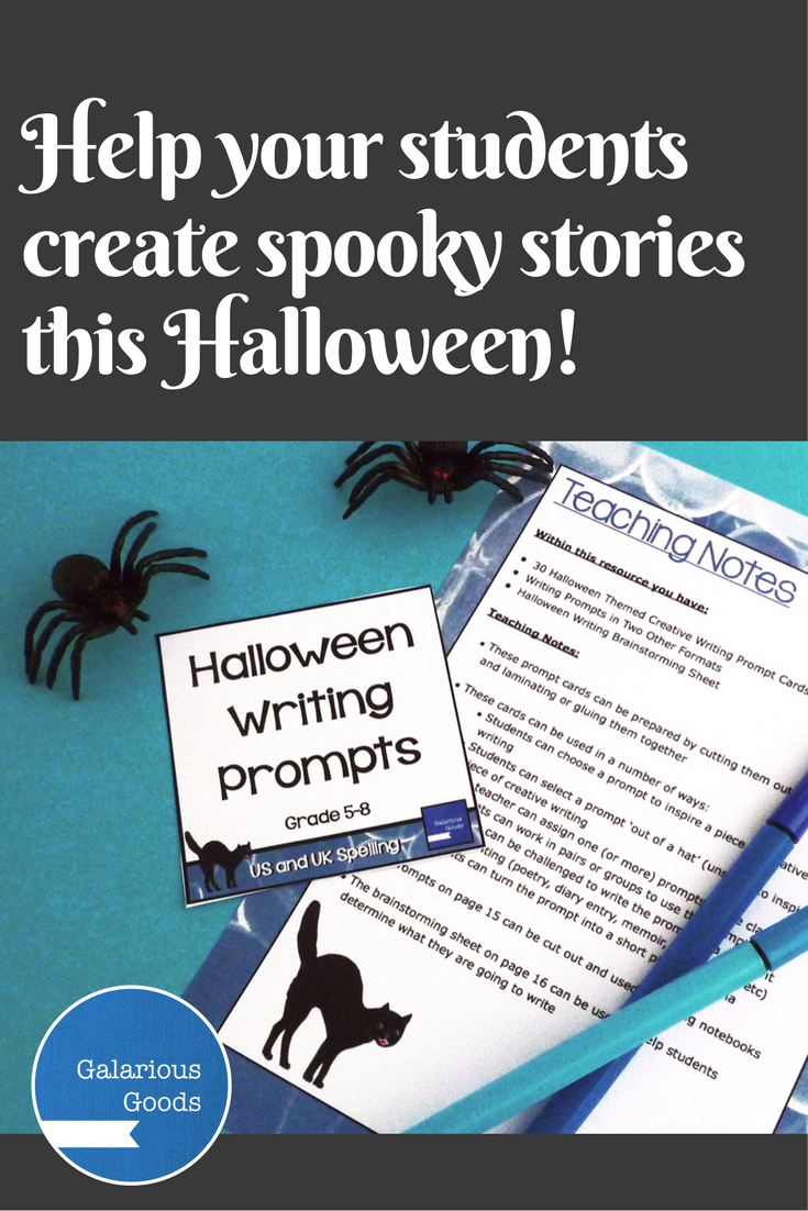 Halloween Spooks for BOOtober is a collaborative and or individual     Pinterest CreKid com   FREE Story Rocks Printouts   Halloween Story Rocks   Spark  your child s