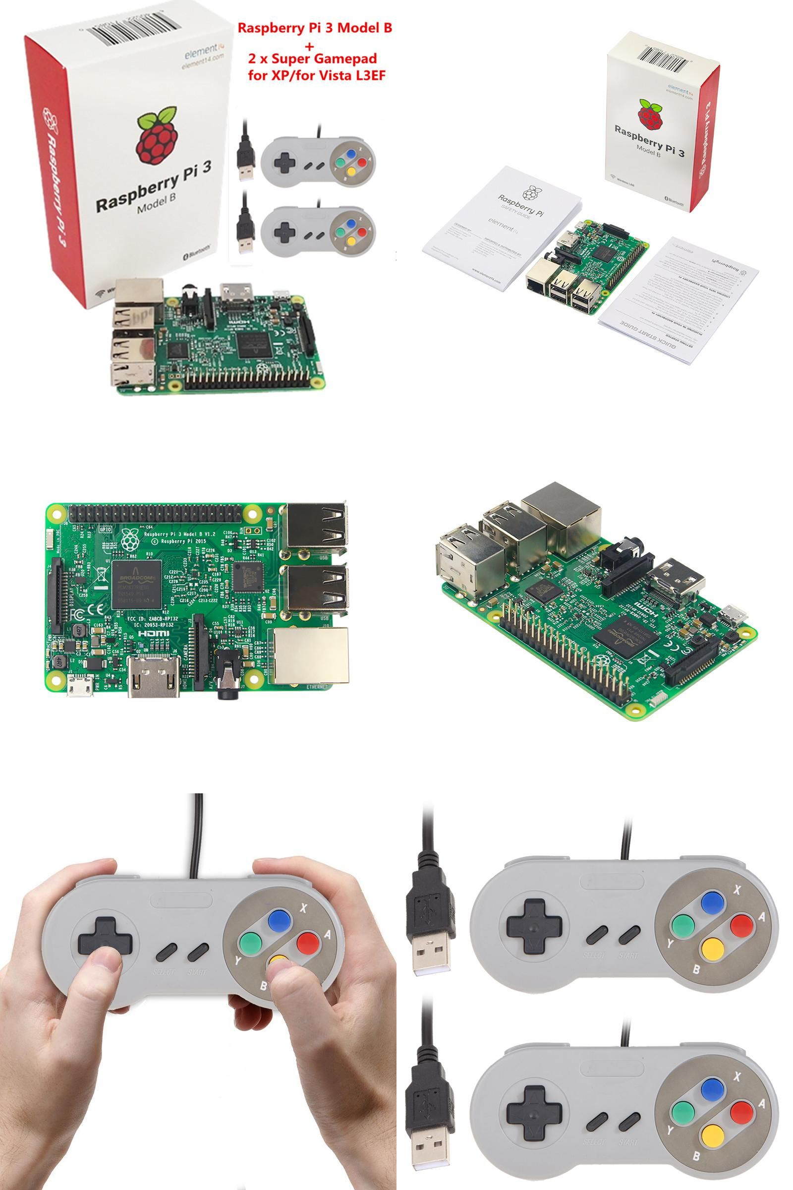 Visit to Buy] Raspberry pi 3 with Wifi & Bluetoothal