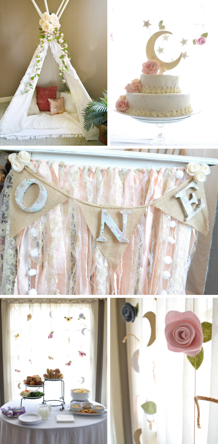 Baby girl floral first b… | Parties + Entertaining by My Humble Hive ...