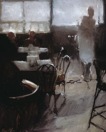 Danny McCaw -  Cafe in Paris . 2012