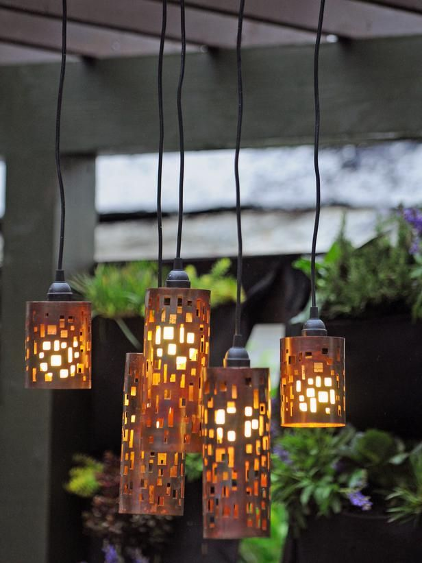 Creative Diy Lighting Ideas Diy Outdoor Lighting Diy Pendant Light Diy Chandelier