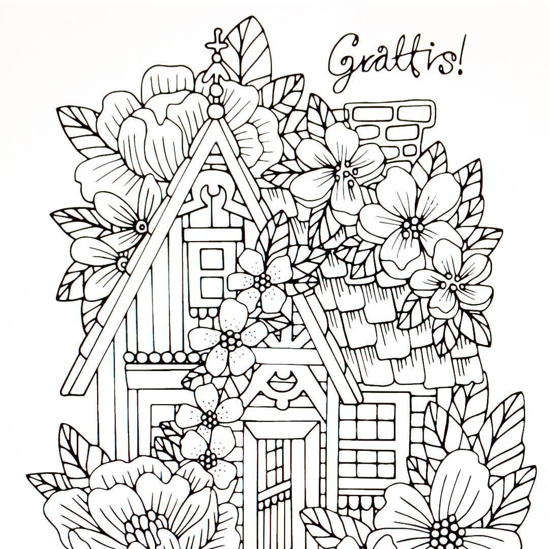 Emelie Lidehall Oberg C Lidehalloberg Instagram Photos And Videos Detailed Coloring Pages Love Coloring Pages Pattern Coloring Pages