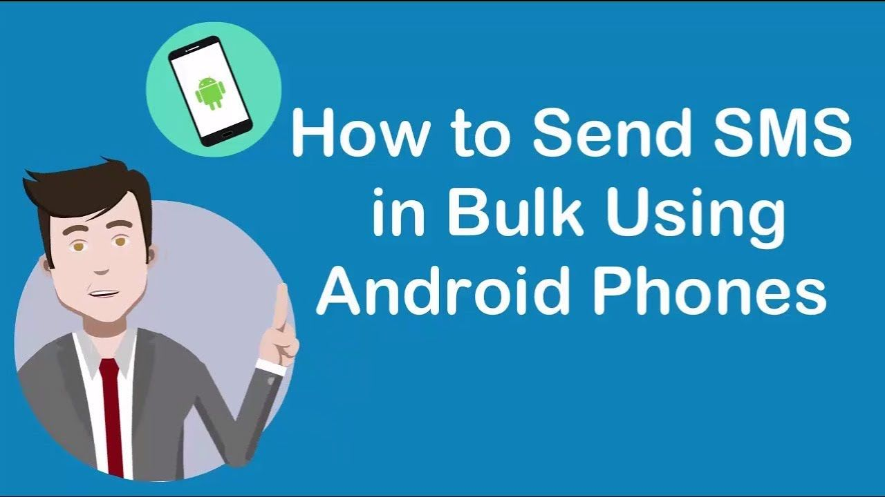 How to Send SMS in Bulk Using Android Phones📱💬