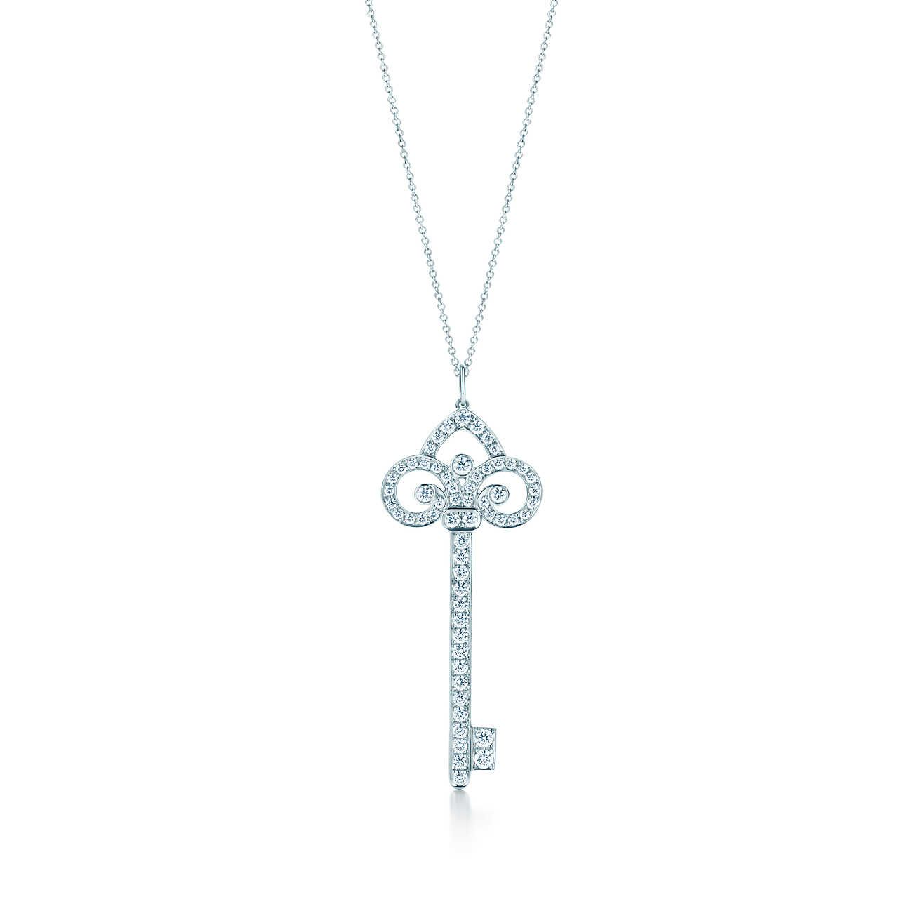 91a19183f Fleur de Lis Key Pendant in 2019 | Necklaces | Tiffany key, Tiffany ...