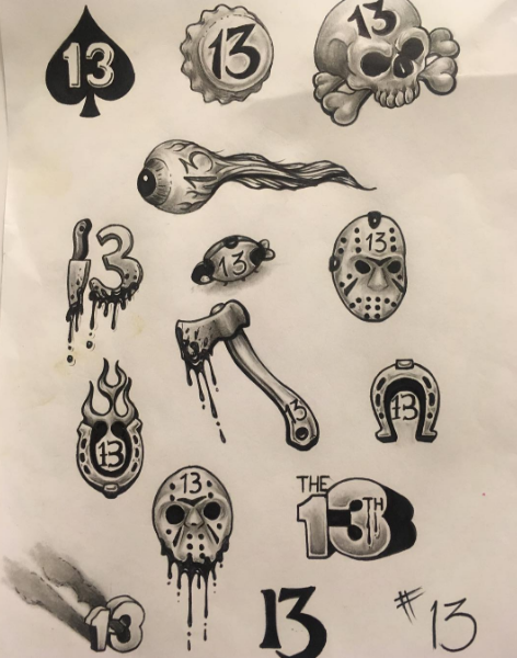 13 Cool Flash Sheets Inspired by Friday the 13th Inked