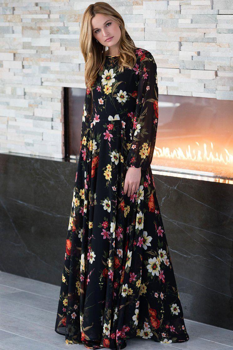 True Love Maxi Dress Maxi Dress Floral Dresses With Sleeves Floral Maxi Dress [ 1116 x 744 Pixel ]