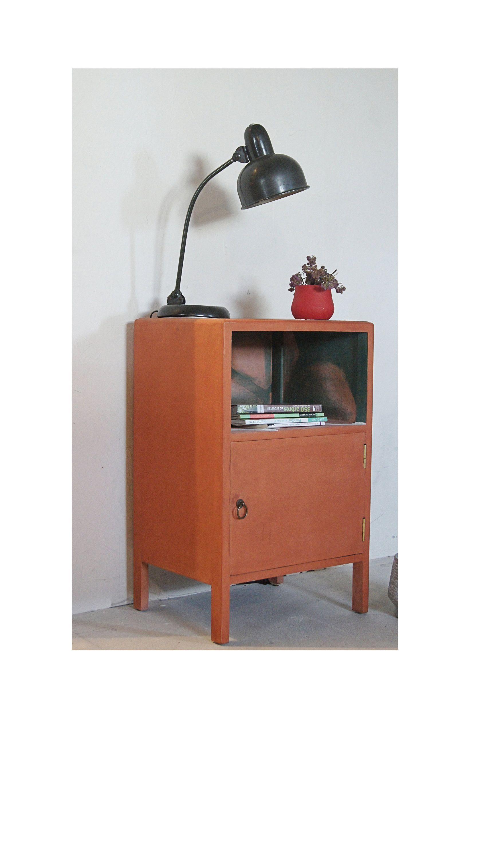Table De Chevet Mobilier Meuble De Chambre Vintage Meuble De