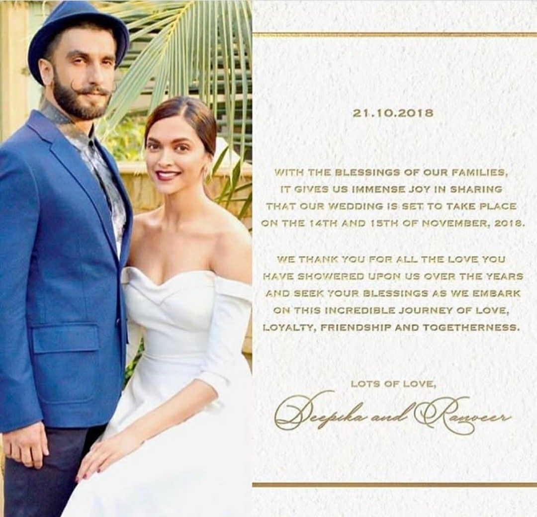 Pin by 👑mar u.j👑 on Bollword | Wedding cards, Wedding ...