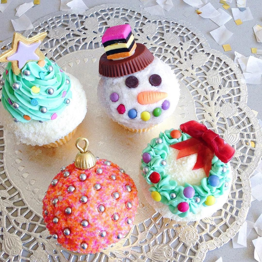 Merry cupcakemas! My favourite decorating hack for making