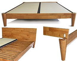 The Ensui Tatami Platform Bed Frame Is Constructed Of 100