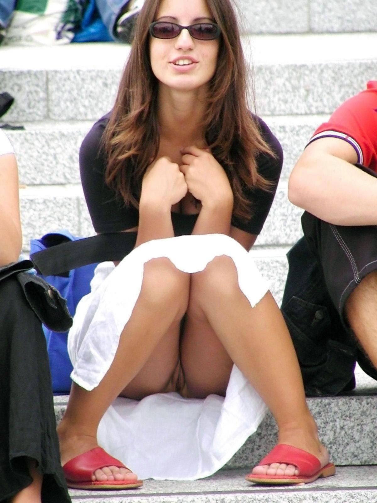 Real Upskirt In Public