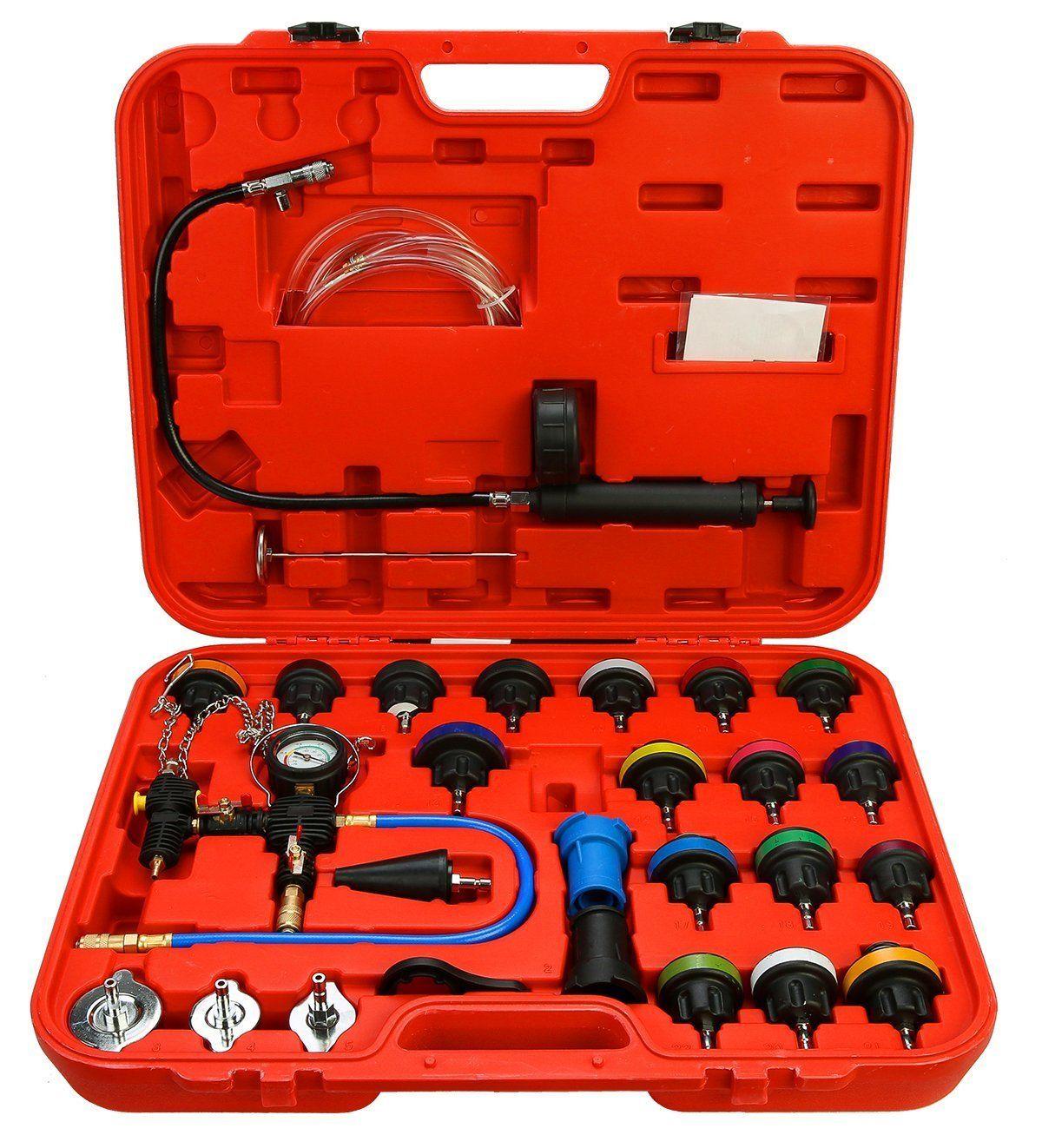 Radiator Cup Tester Kit 27pc Cooling System Kit MYRPT10
