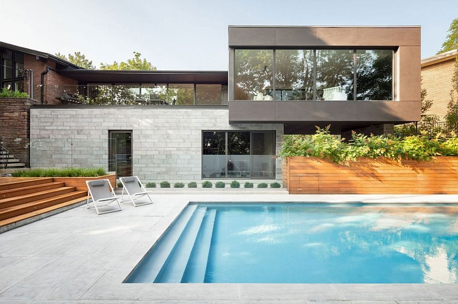 Contemporary Extension Adds A Spacious Additional Level To 1960s Montreal Home