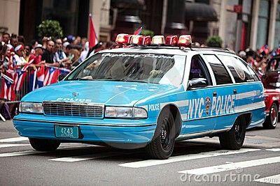 New York City Police # 4243 Chevy Caprice Classic Wagon