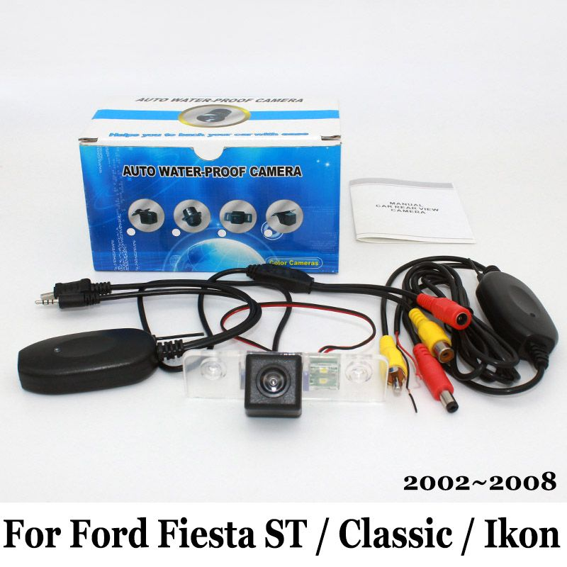Car Rear View Camera For Ford Fiesta St Classic Ikon 2002 2008