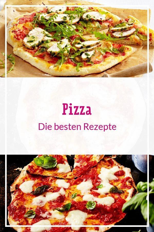 Pizza - die besten Rezepte #hefeteigfürpizza