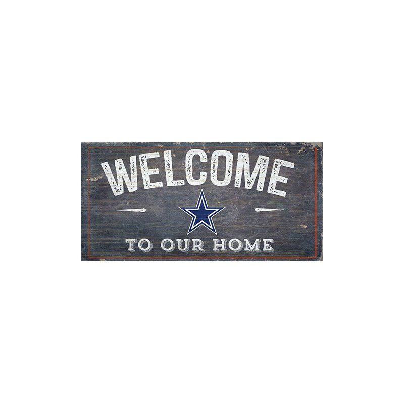 Nfl Welcome Wall Du00e9cor By Fan Creations Fan Creations Novelty Sign Summer Fashion