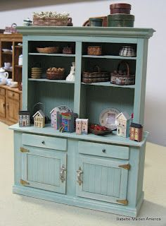 miniature country hutch