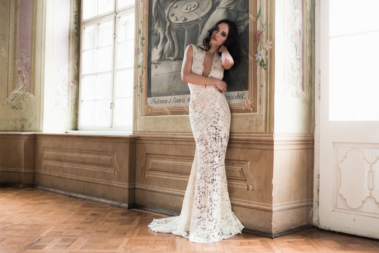 Daalarna Couture Wedding Dress   NEW COLLECTION 20, Ivory ...