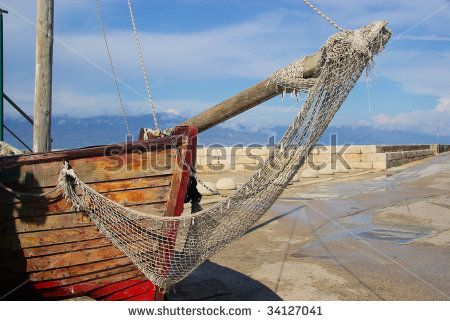fishing net by LianeM, via Shutterstock