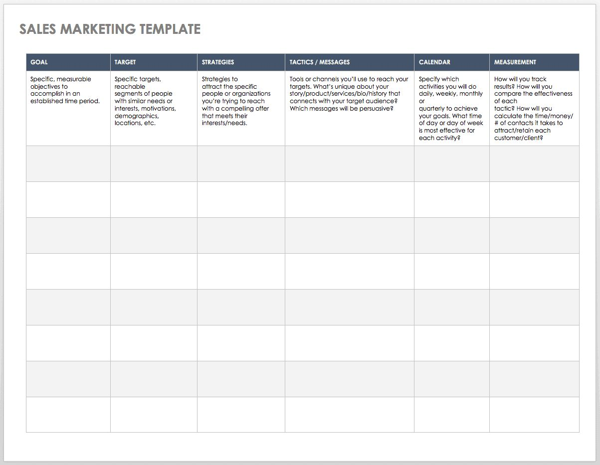 Free Sales Pipeline Templates
