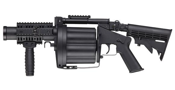 ICS-190 GLM multi shot 40mm airsoft grenade launcher