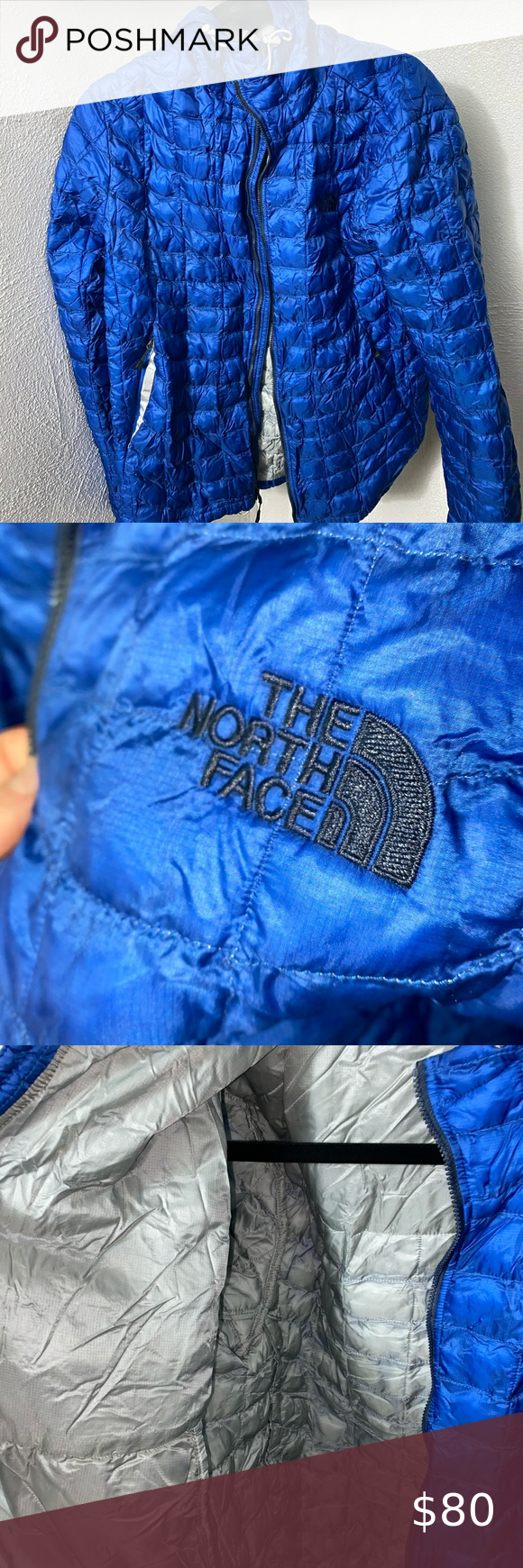The North Face Blue Jacket (M)