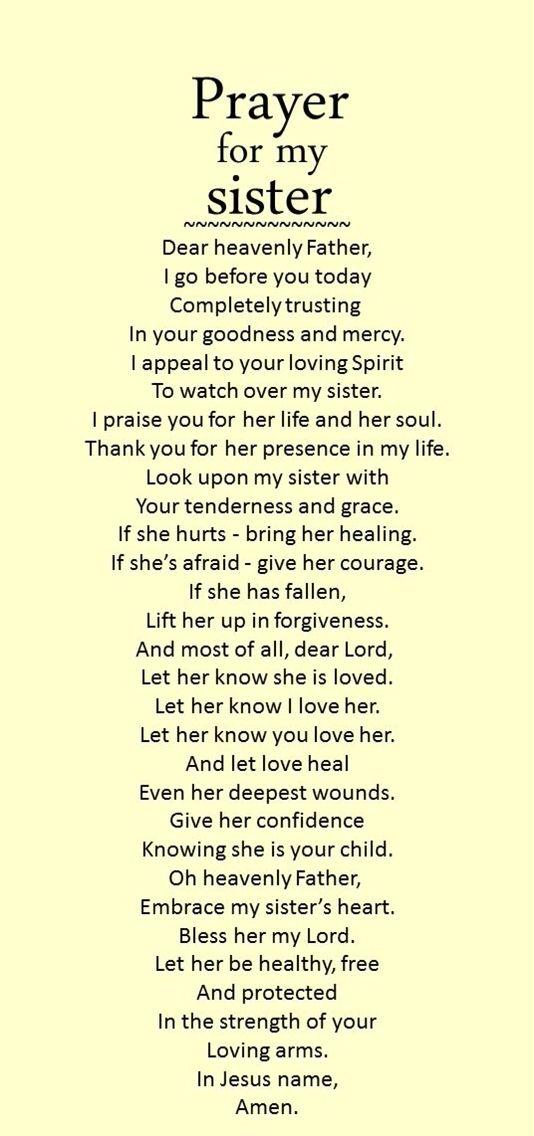 For My Twin Sisters DD Prayer Prayers Prayers For My Sister Simple I Love My Twin Sister Quotes