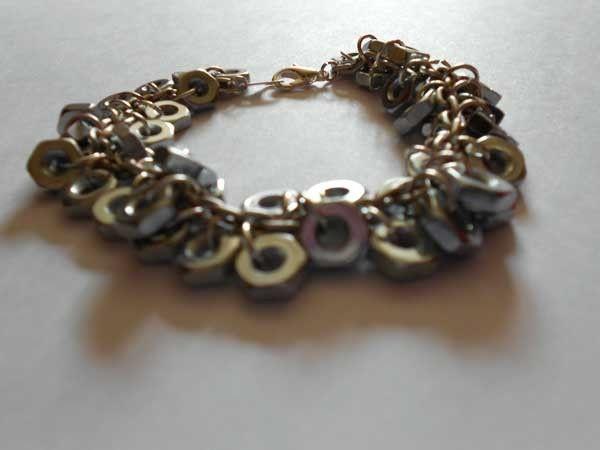 Hex Nut Bracelet, $12.00