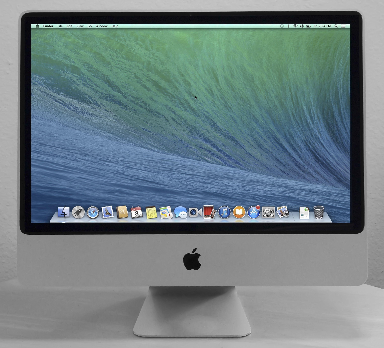 apple 24 imac desktop computer - Computertisch Fr Imac 27