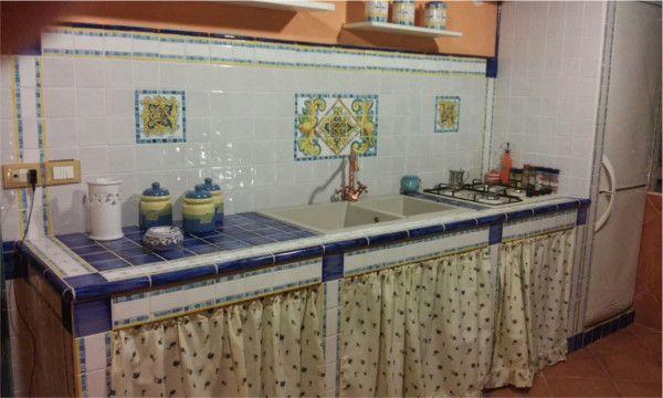 Le cucine in muratura sono un caposaldo della ceramica artistica ...